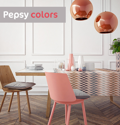 Style tendance pepsy colors