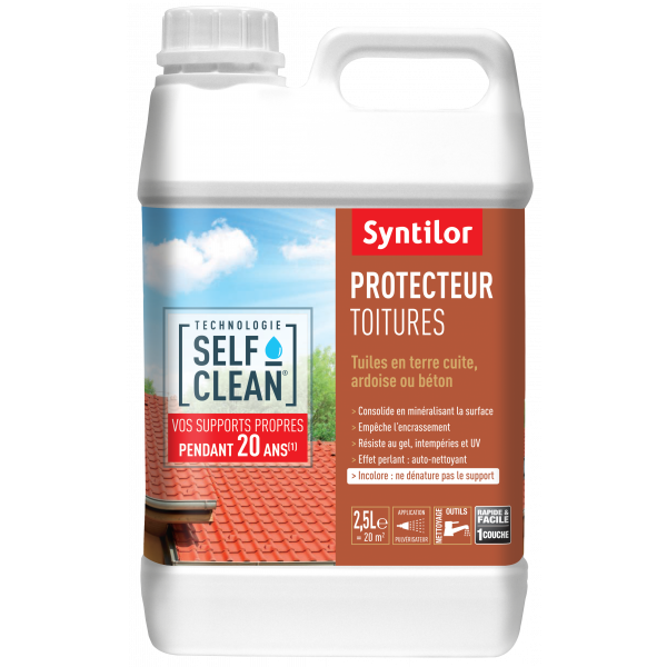 Self Clean Protecteur Toitures 2,5L