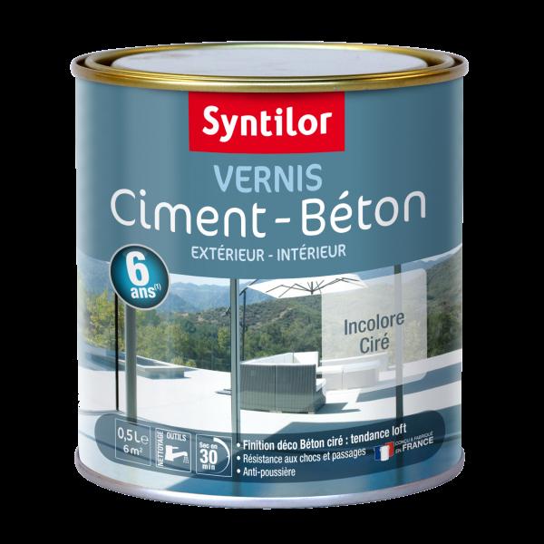 Vernis Beton Cire De Syntilor Pour Proteger Vos Betons Et Ciments