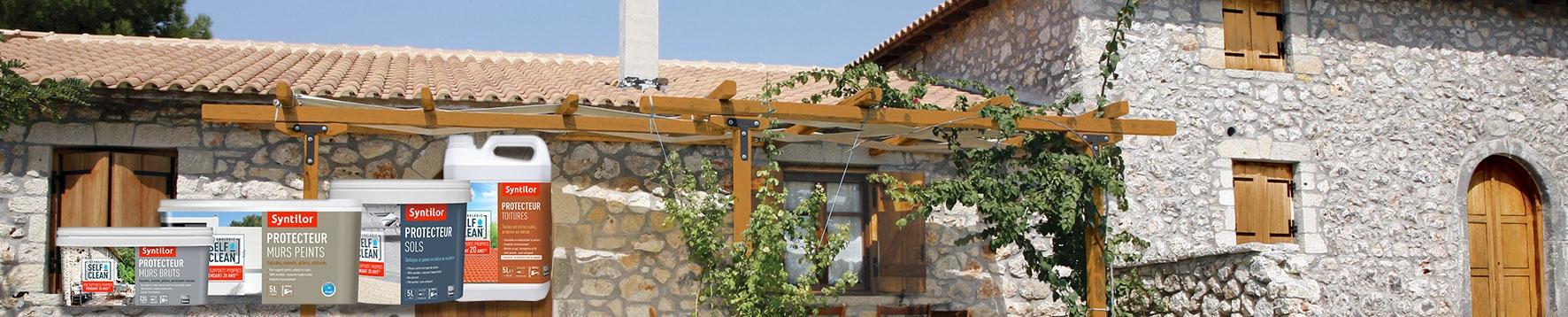 Gamme Self Clean protection des murs, sols et toitures