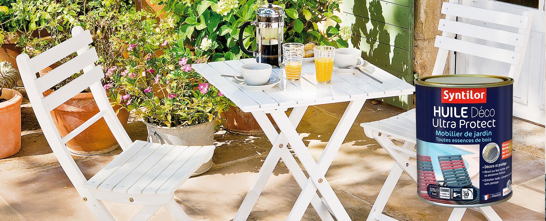Huile Déco Ultra Protect meuble de jardin
