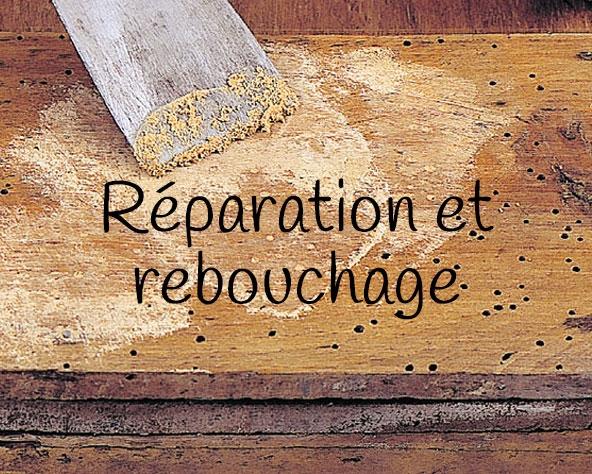 Catégorie réparation et rebouchage