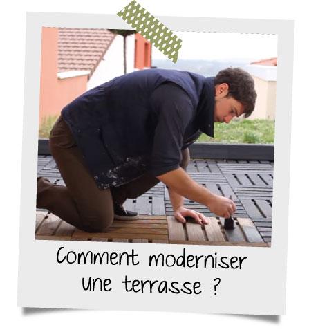 Terrasse et meubles de jardin modernes