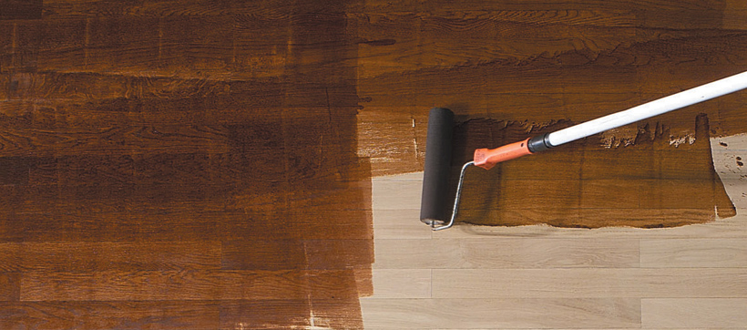teinter application dune teinte parquet